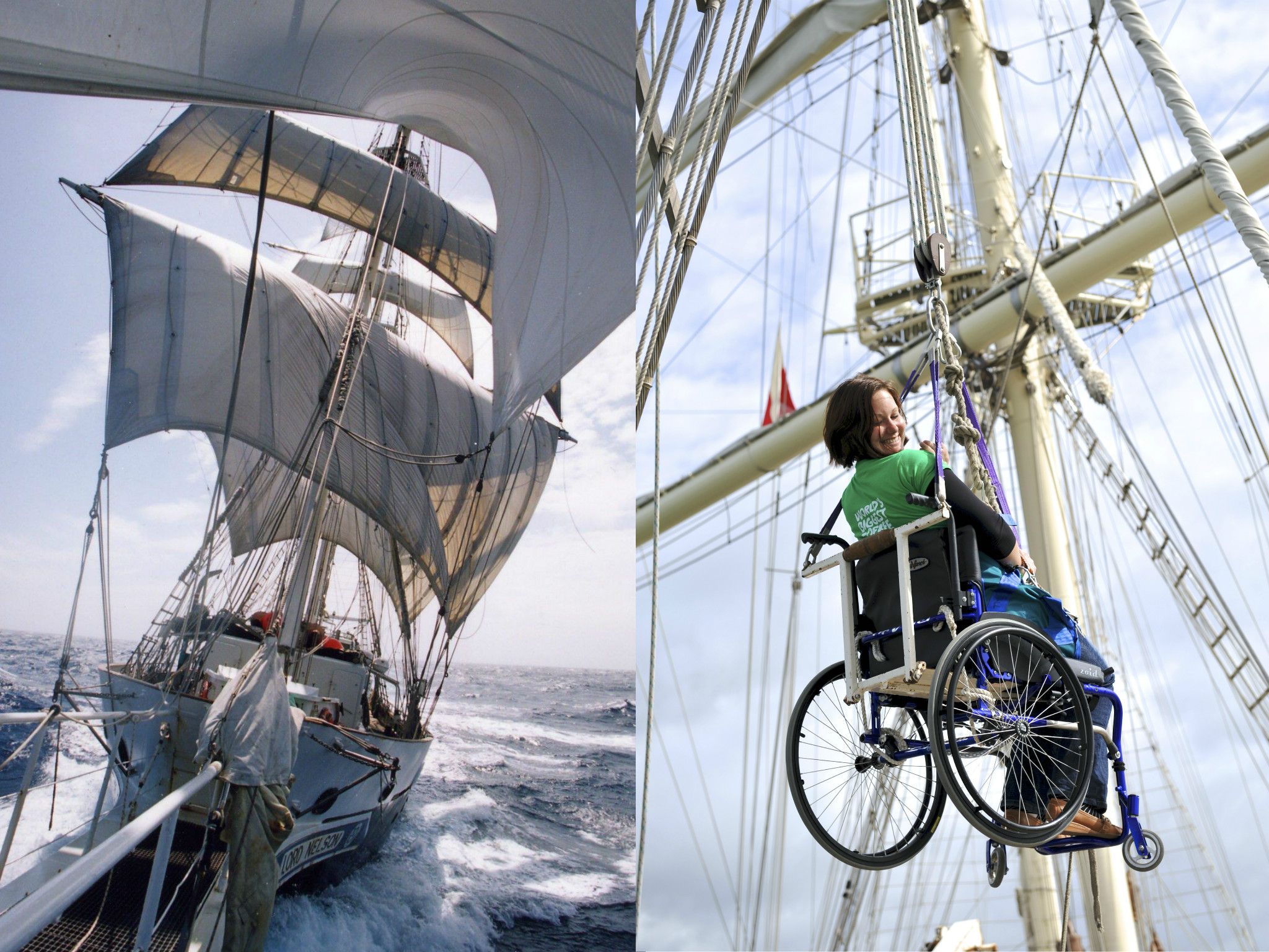 Win a Day Sail adventure with the Jubilee Sailing Trust!