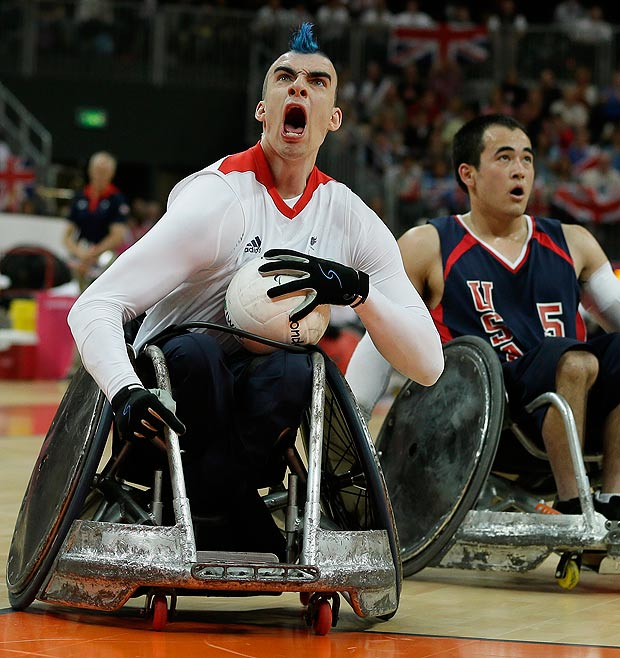 Murderball Glory For GB