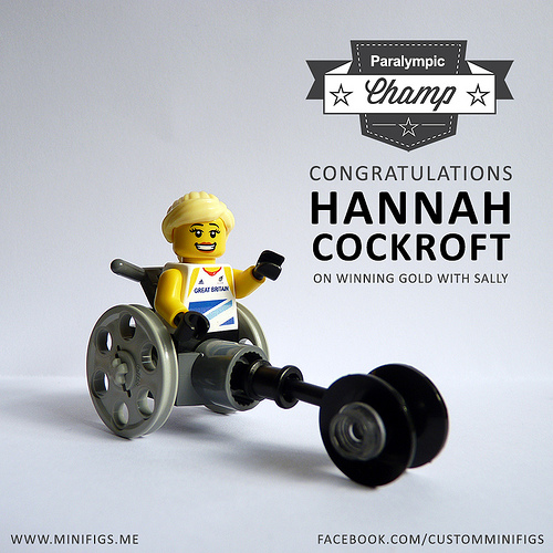 WIN!! Hannah Cockroft in today's exclusive online competition