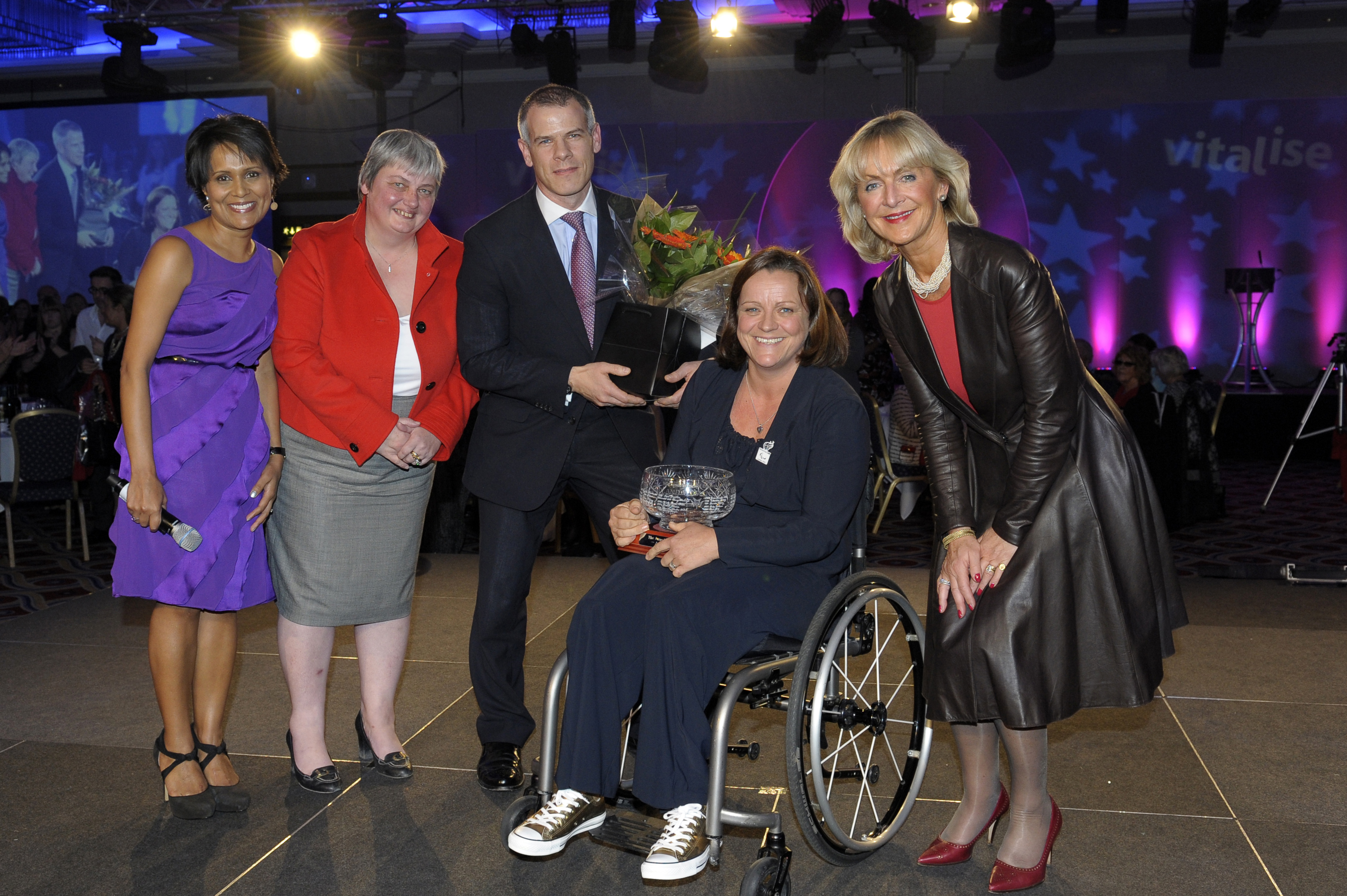 Paralympic Star and 7/7 Survivor Named Vitalise Woman of Achievement