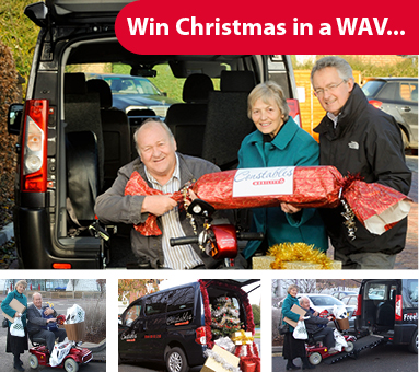 Make this Christmas extra special for someone in a wheelchair