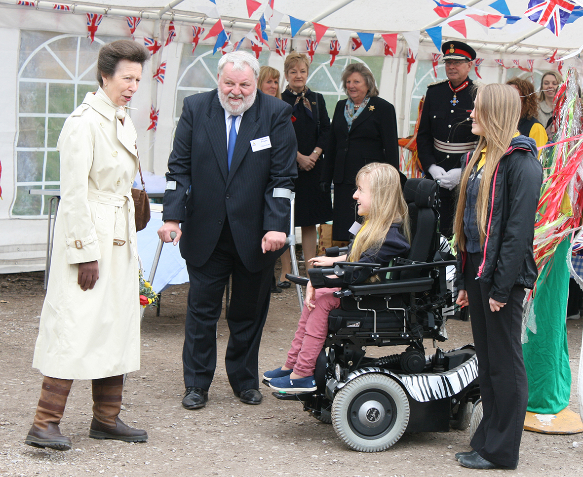 HRH Princess Anne Meets Inspirational 12 Year Old Sailor