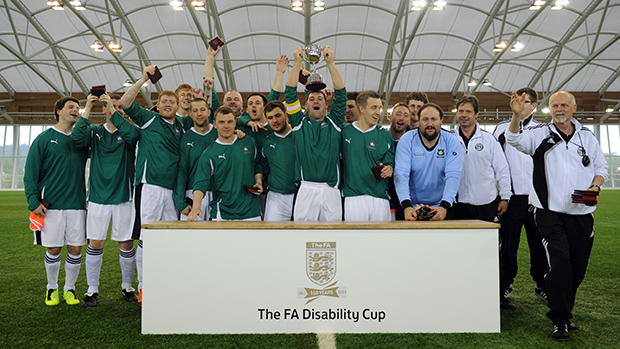 Plymouth Argyle win the inaugural FA Disability Cup