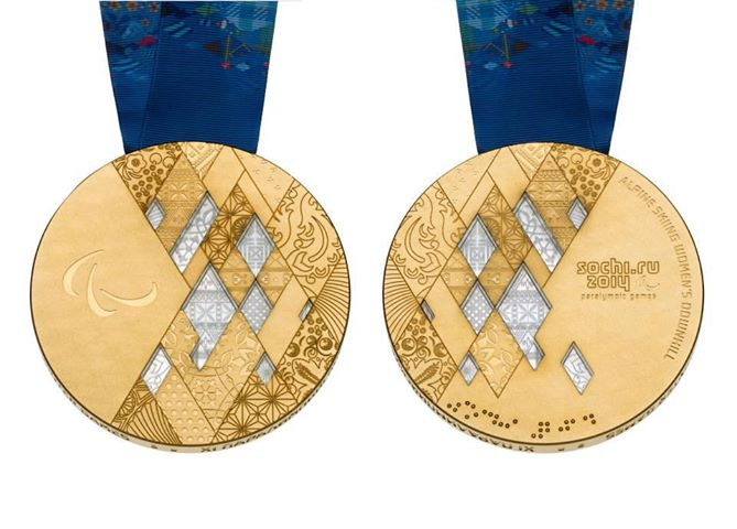 The Sochi 2014 Organizing Committee unveils Olympic and Paralympic Winter Games medals