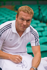 Sir Chris Hoy backs benefits of physical activity for mental health