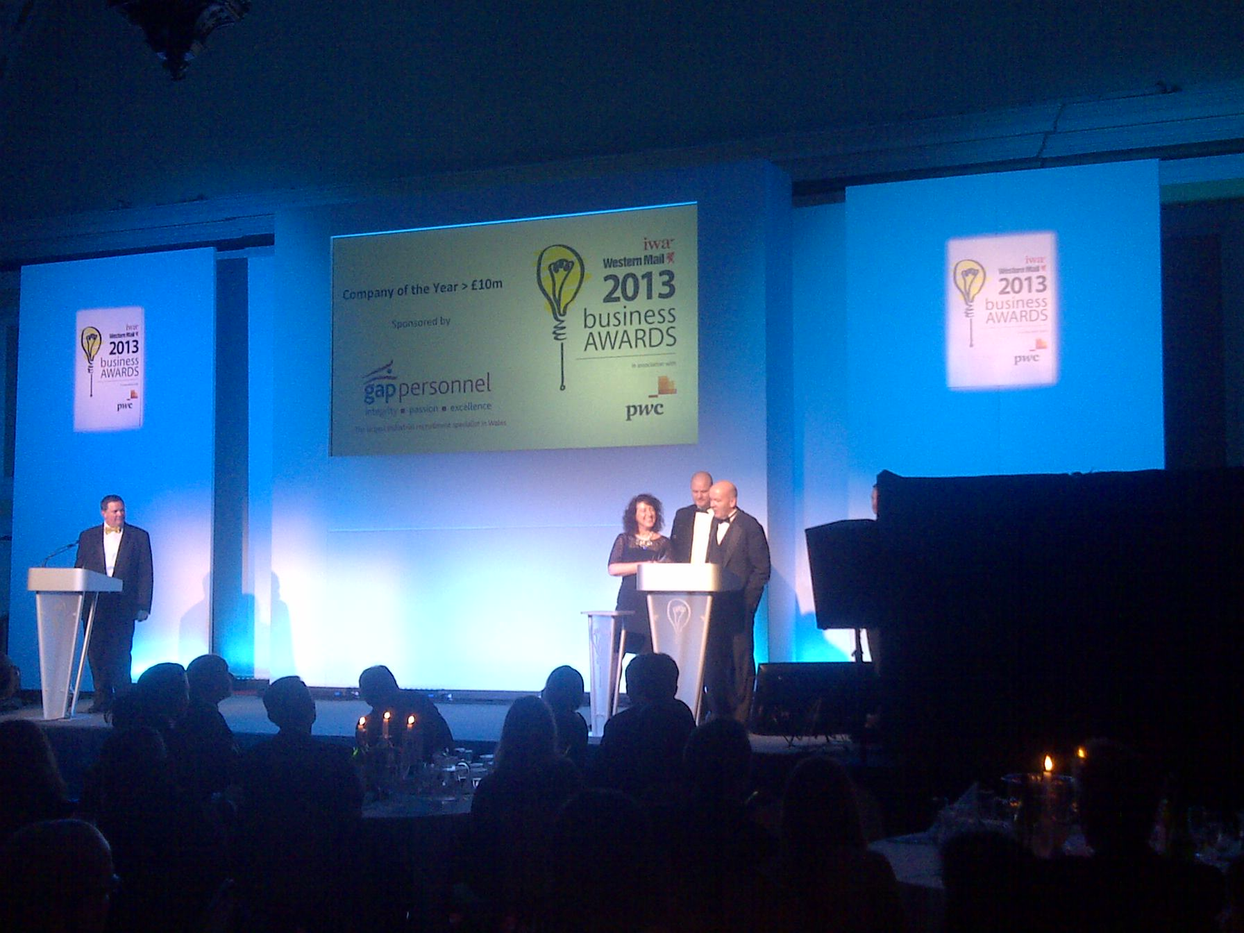 Invacare named Company of the Year at IWA Business Awards 2013