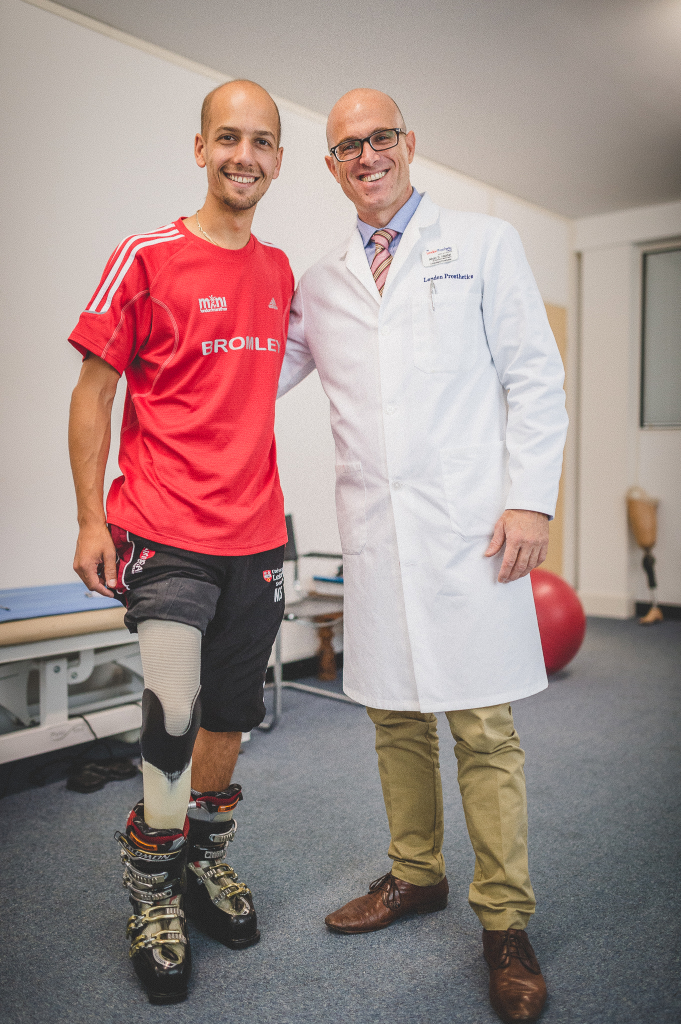 Specialised prosthetic skiing leg to see amputee embark on Paralympic dream