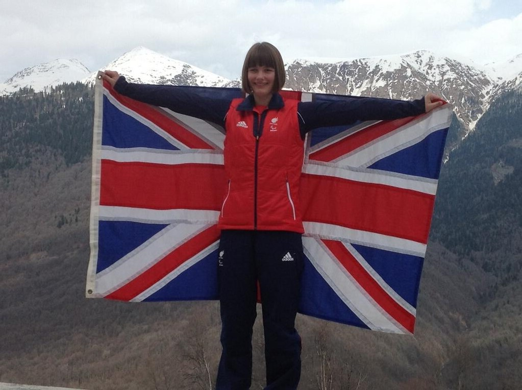 Knight to lead ParalympicsGB as flagbearer for Sochi 2014