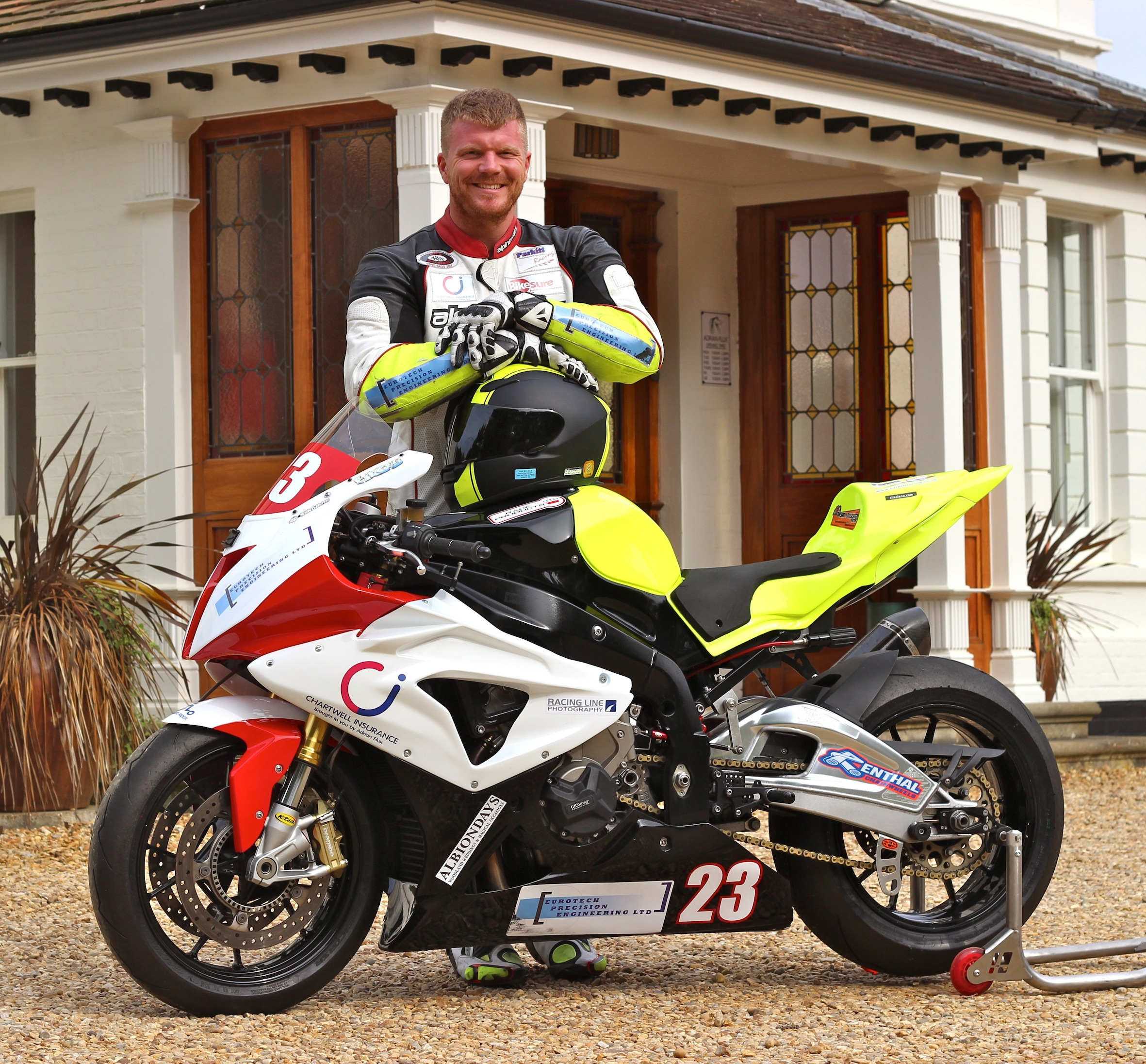 Disabled racer Fincham up and running – on his dad's bike