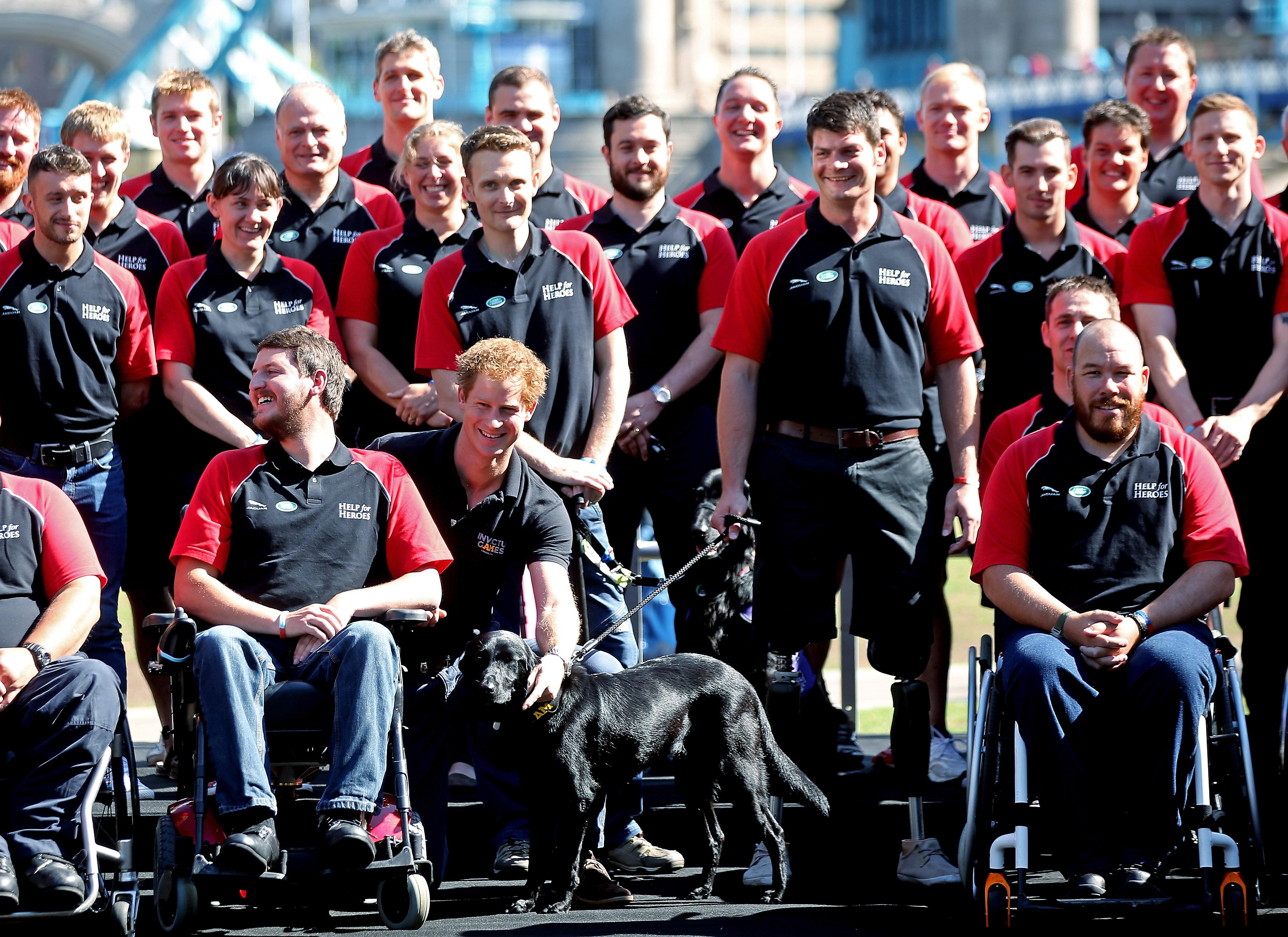 Jaguar Land Rover Presents British Team For The Invictus Games