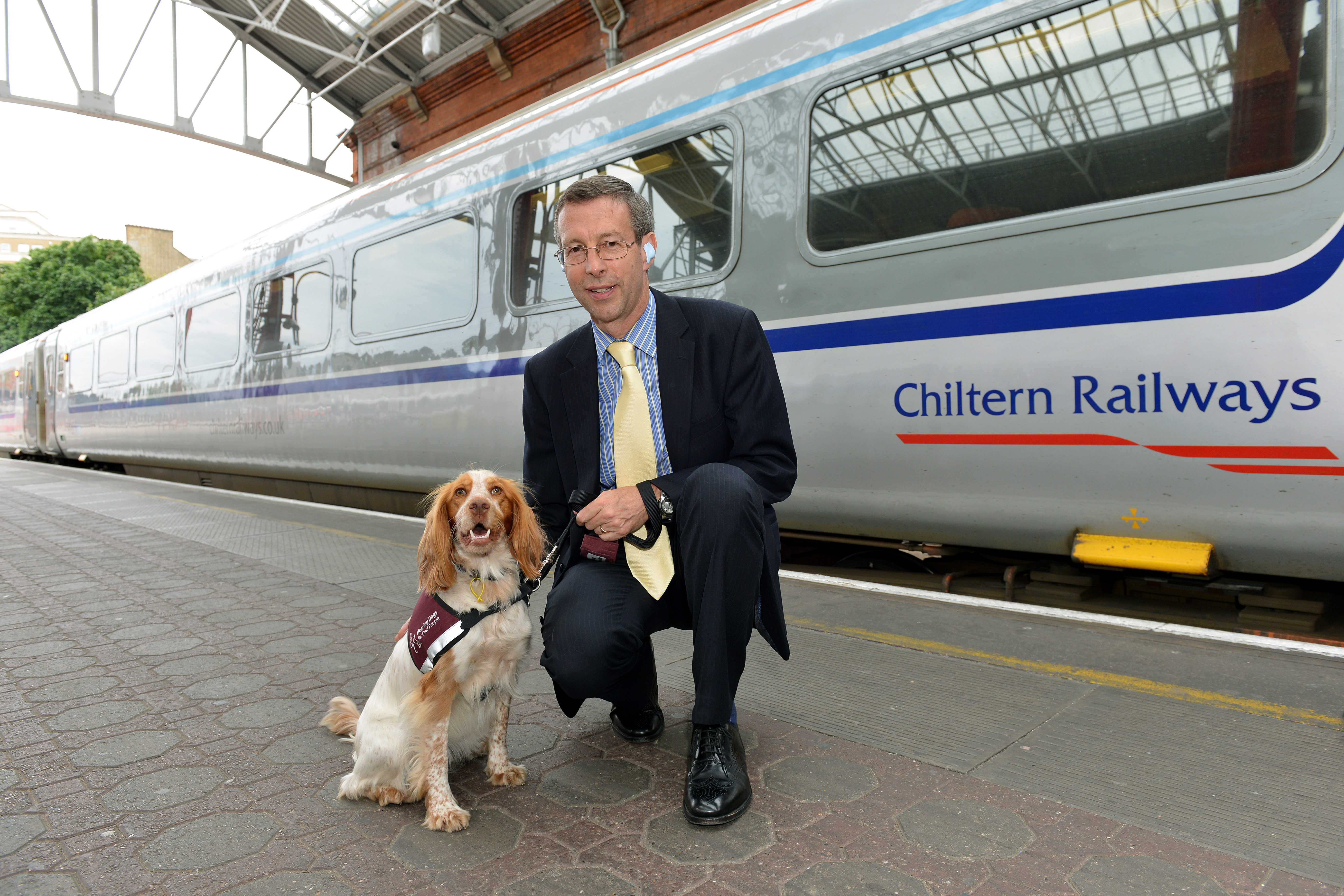 Chiltern Railways Managing Director goes deaf for the day