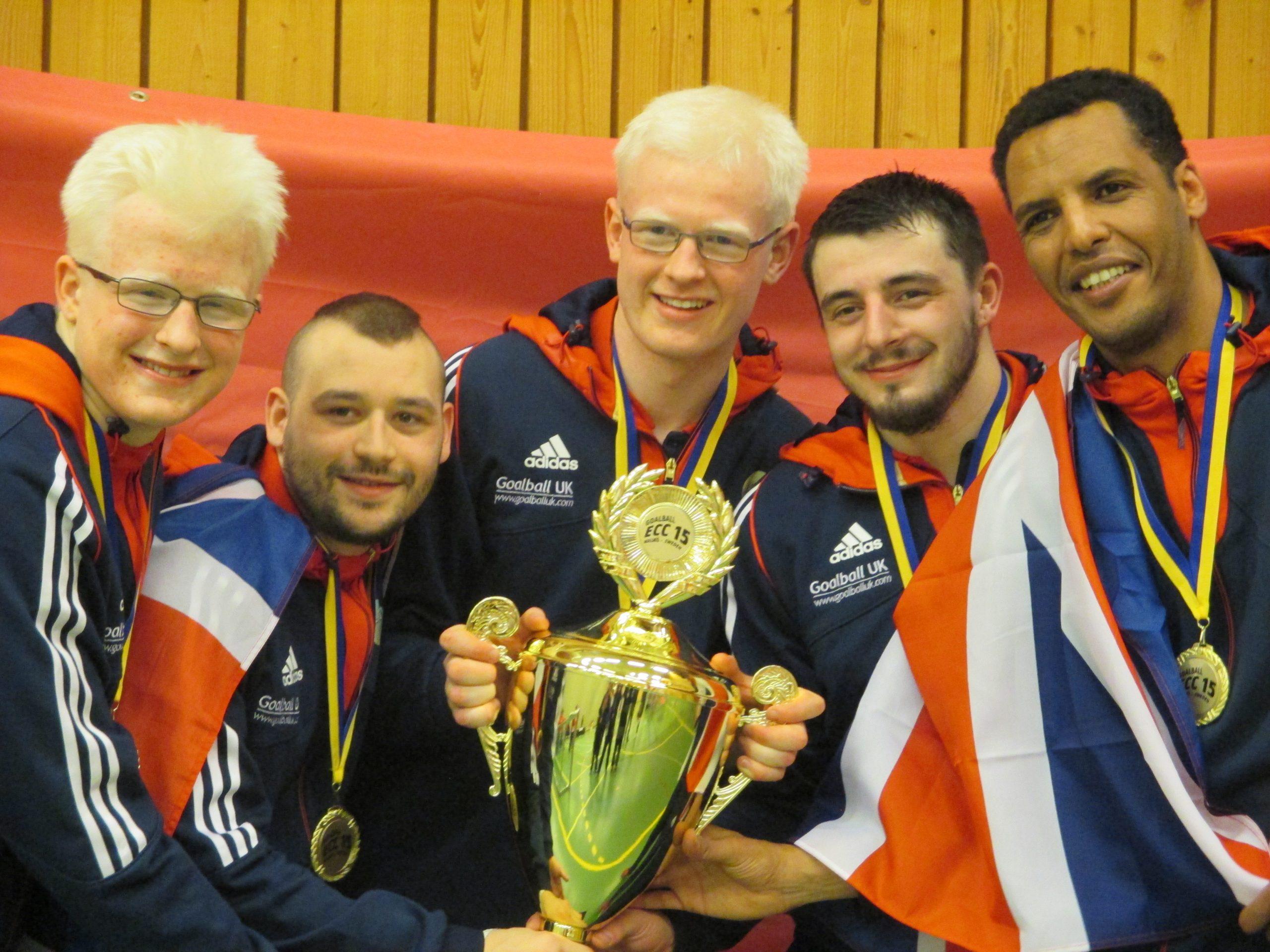 Team GB take Malmo by storm at European Goalball Championship