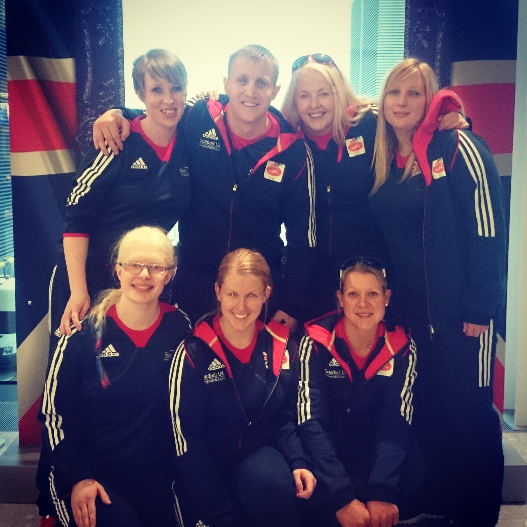 Women's GB Goalball team one step closer to Rio 2016