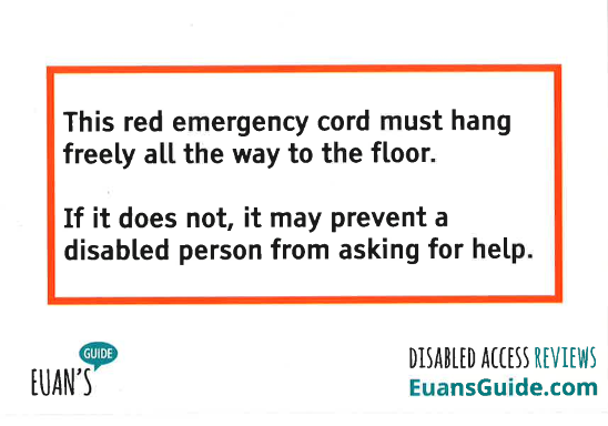 Euan's Guide Launches Red Cord Campaign to Improve Disabled Access