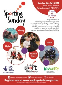 Sporting Sunday Flyer