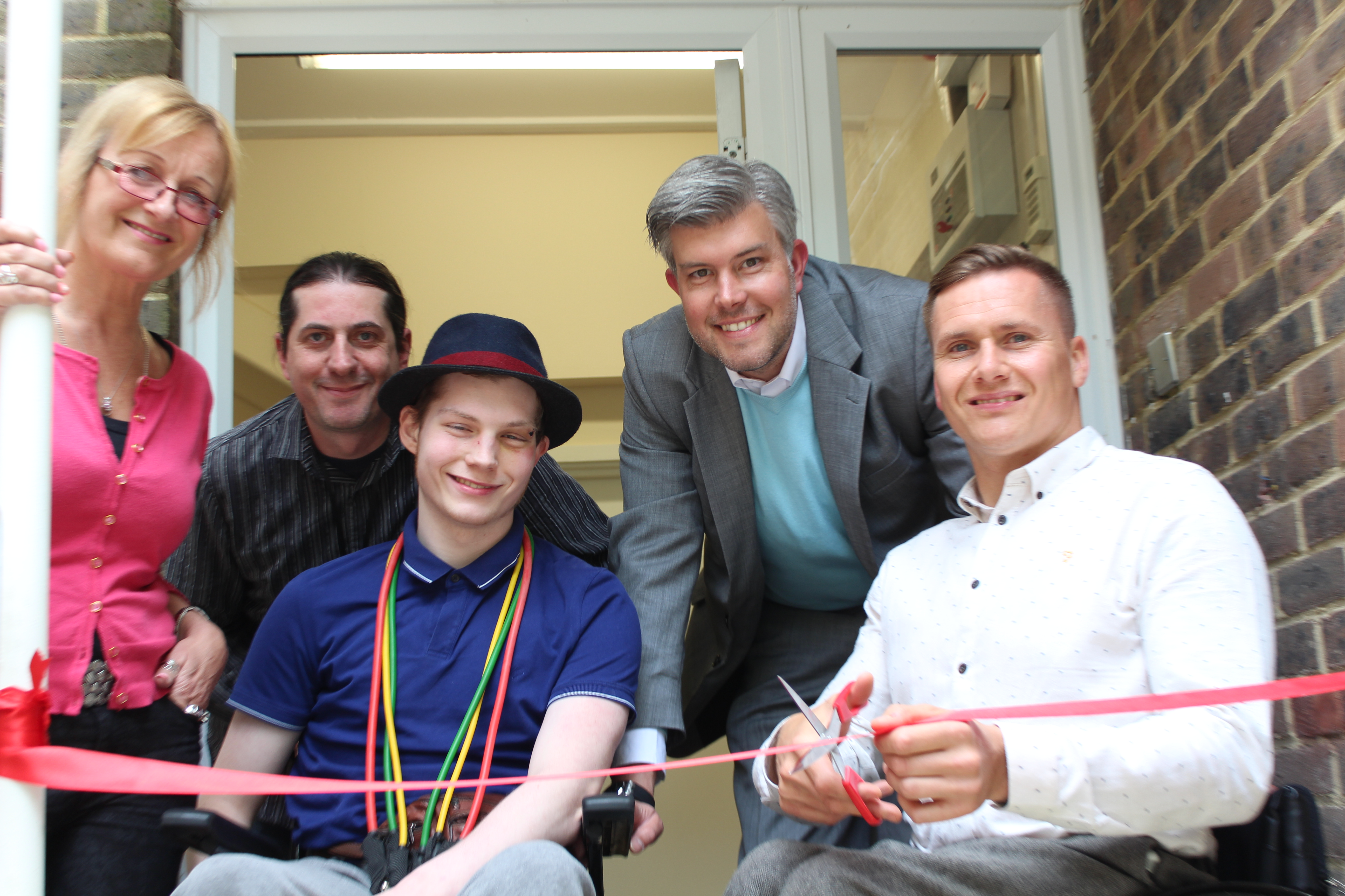 Paralympic Medalist Helps Social Care Provider Celebrate New Short Breaks Service