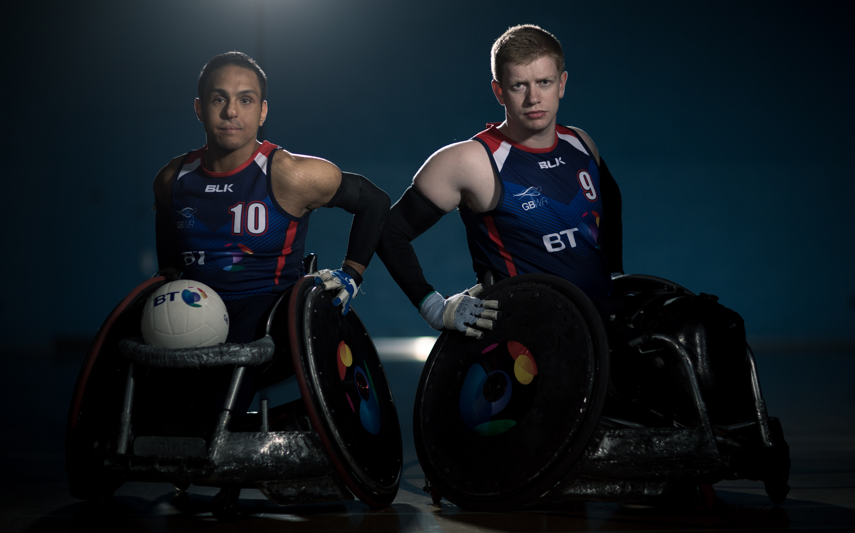 Wheelchair Rugby players join roster of world-class BT Ambassadors