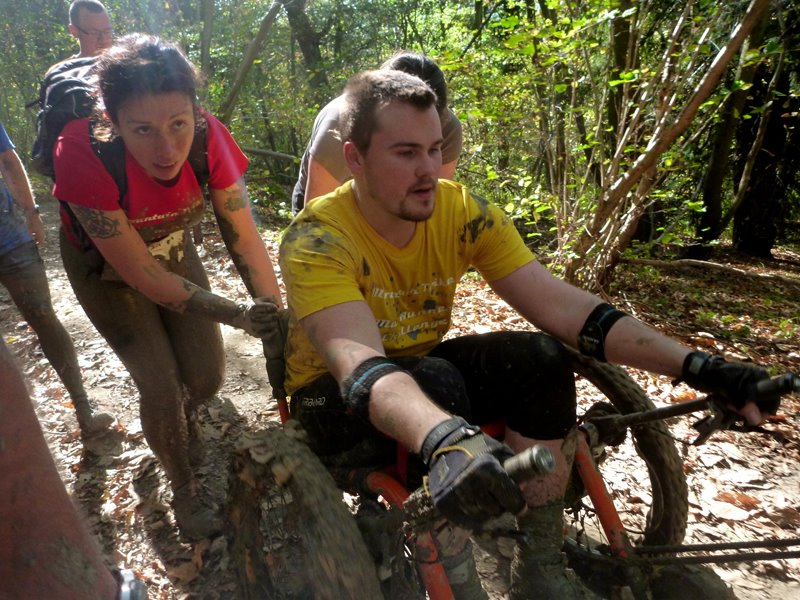 Woman with spina bifida aims to be the first female Mud Runner in a wheelchair