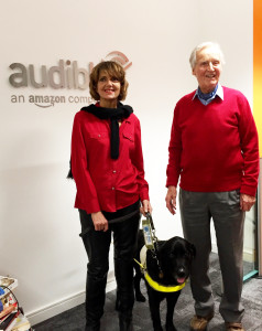 Joanne with her guide dog Uska