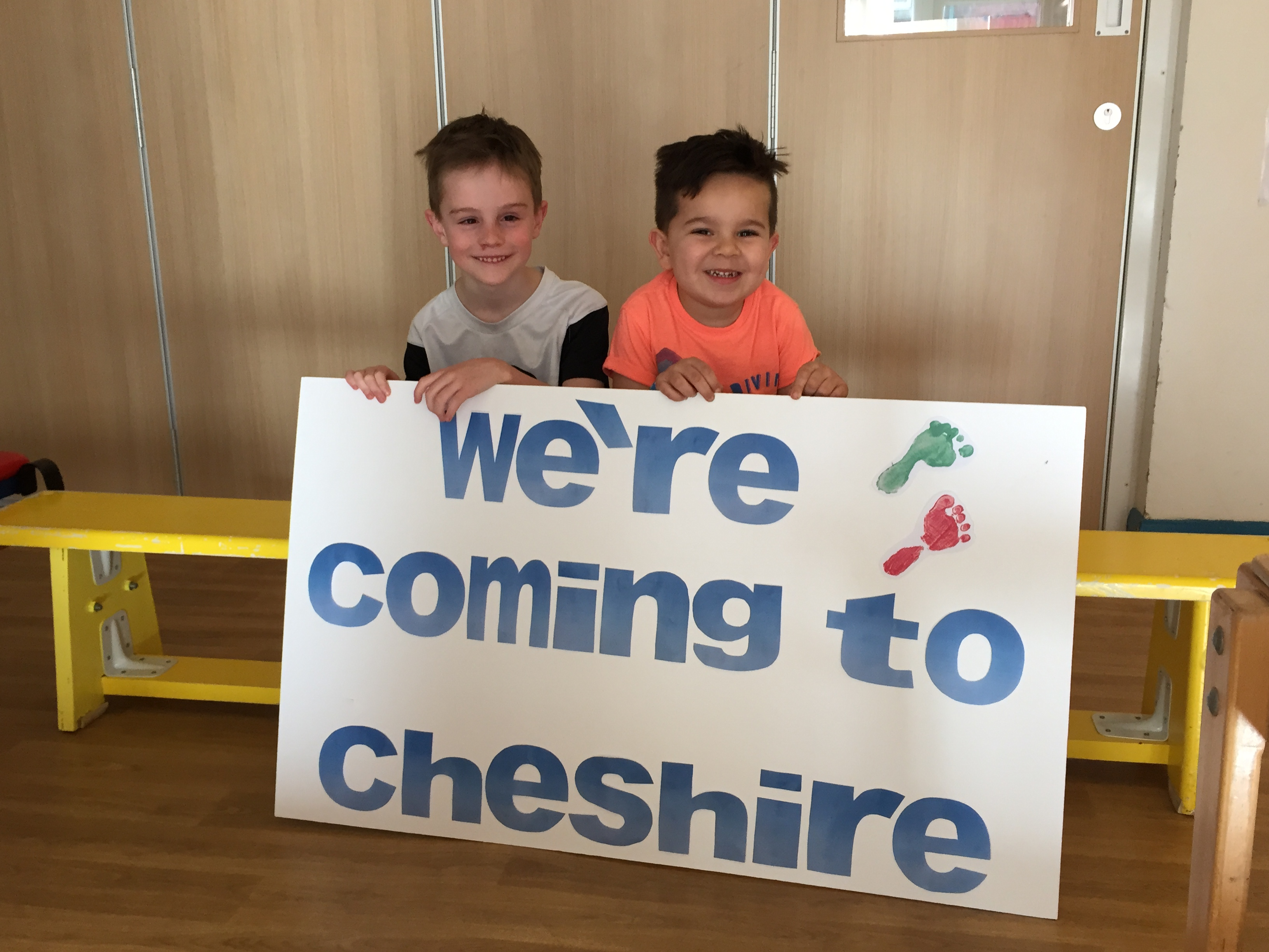 Children's charity Stick 'n' Step doubles reach with expansion into Cheshire