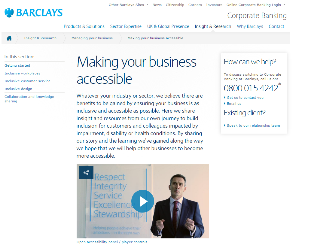 UK SMEs need better advice to cater for disabled customers