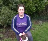 Rebecca takes on tough 250km desert running race in aid of Canine Partners