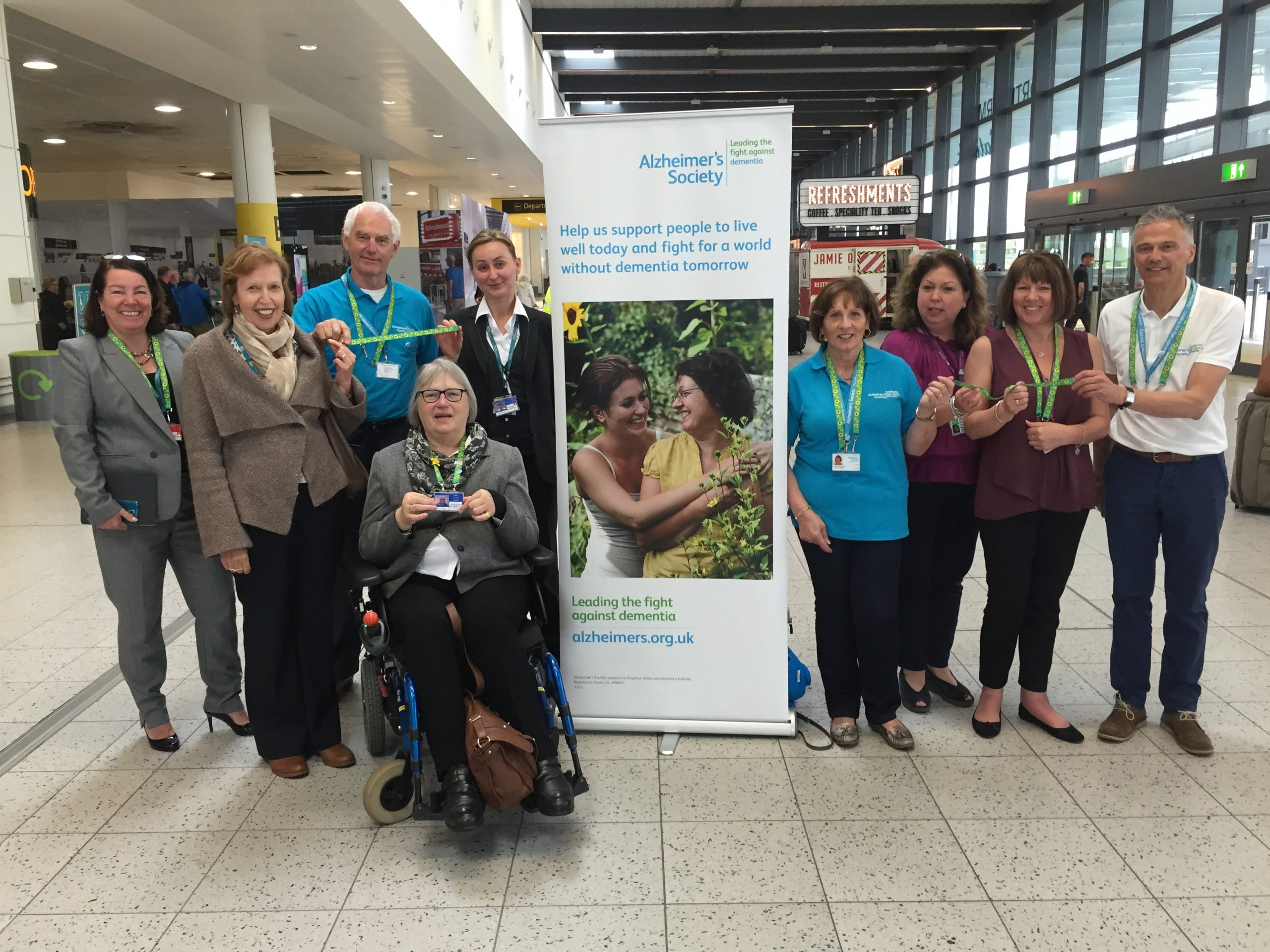New lanyard launched to assist passengers with hidden disabilities
