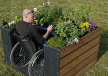 Opening up gardening for wheelchair users