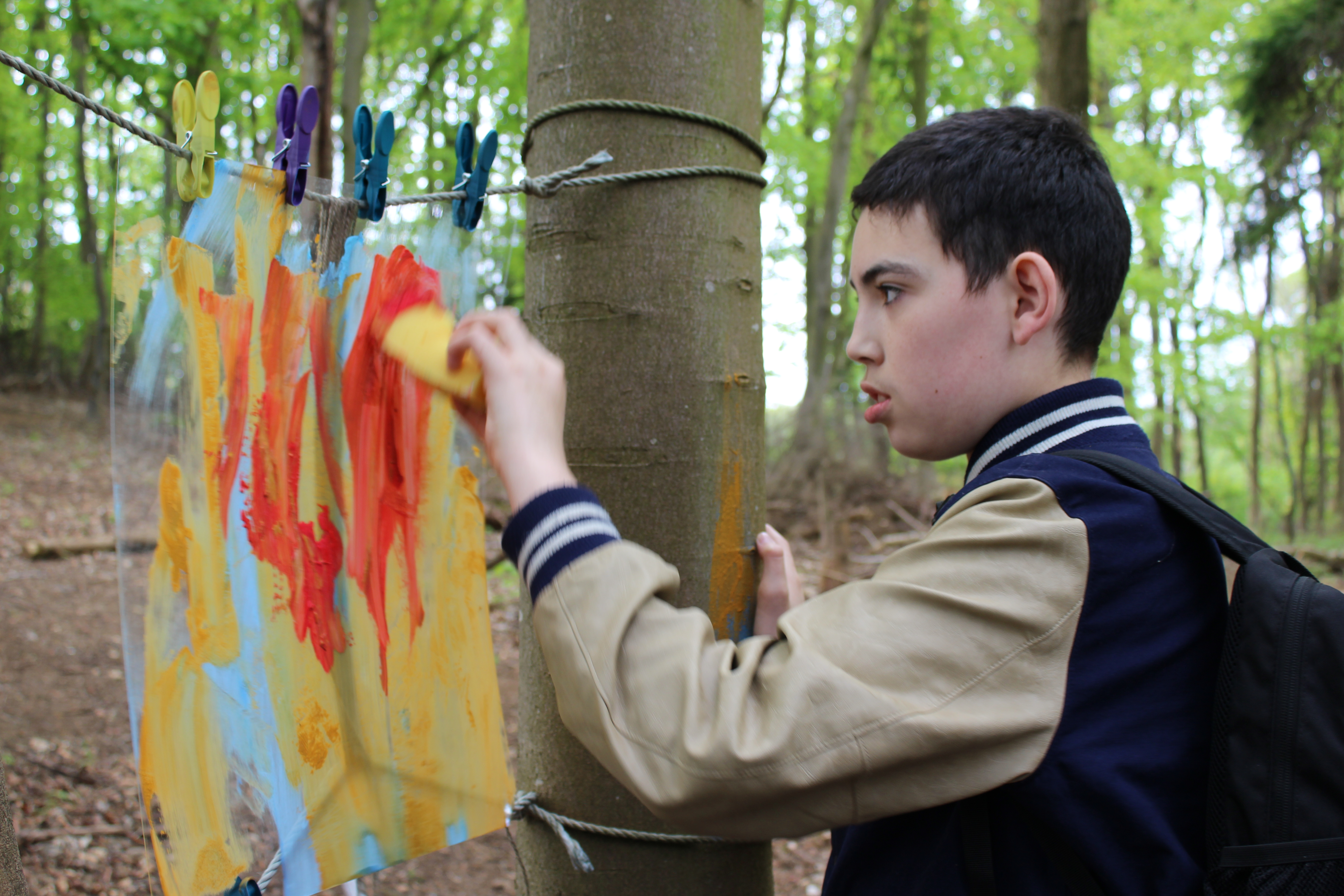Forestry Commission Scotland and Light Bulb Arts create a big book of ideas