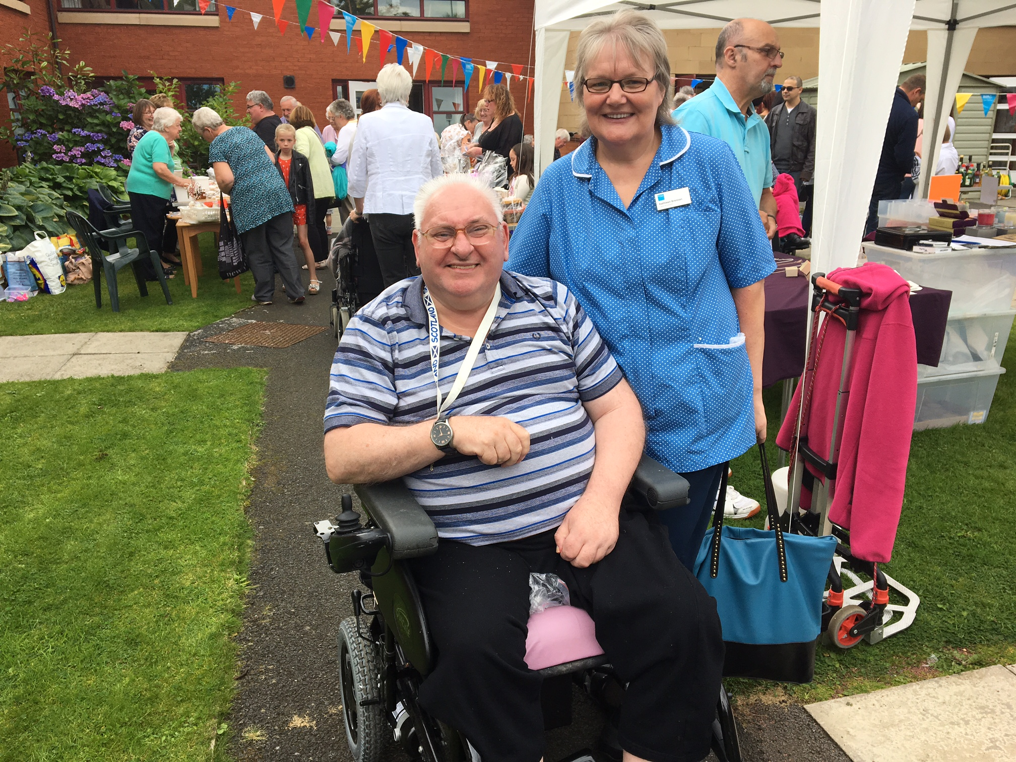 Not just down to 'Fete' – Care home raises hundreds from summer event