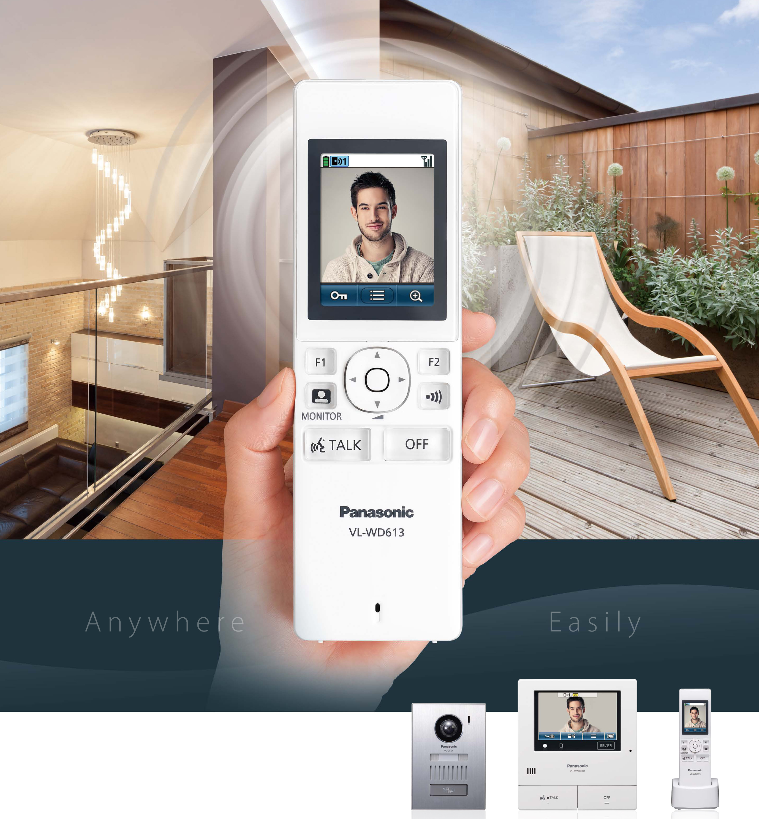 New Panasonic Wireless Video Entry System from MEC Electrical