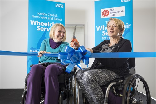 Baroness launches wheelchair services