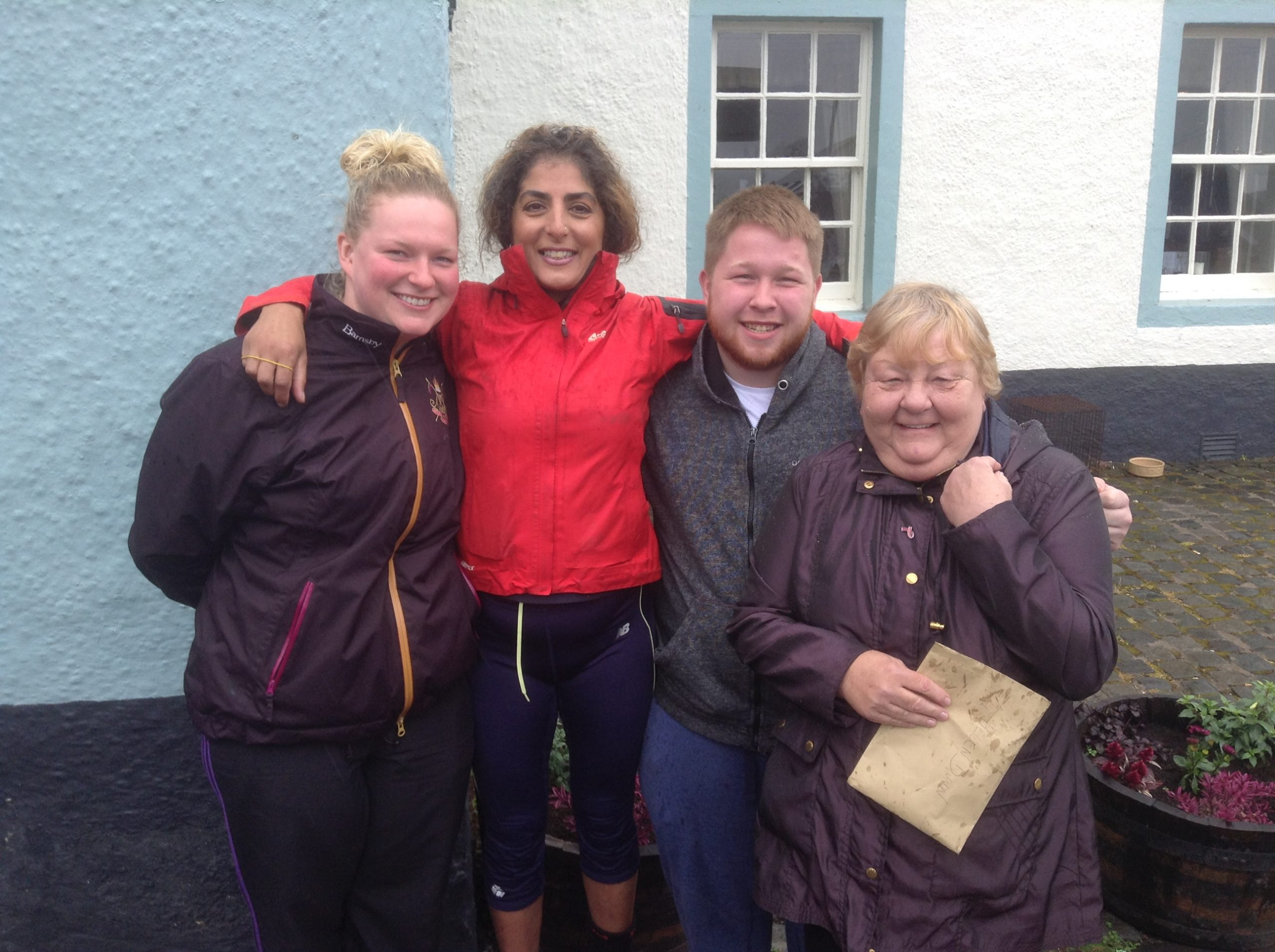 Bield Staff Complete Fearless Feat for Charity