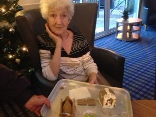 Residents take the (spiced) biscuit at Dundee care home