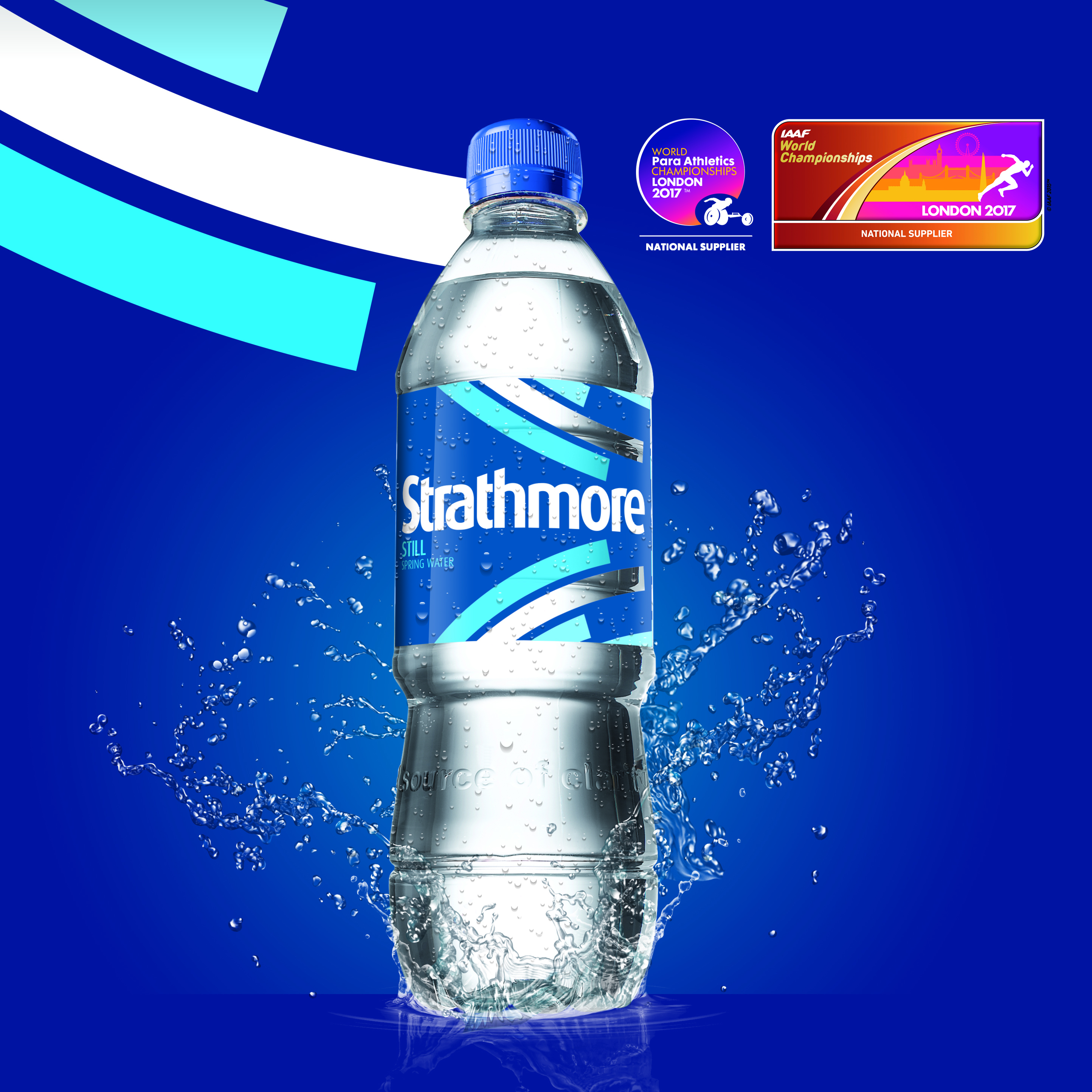 Strathmore Water announces deal to hydrate world class athletes in 2017