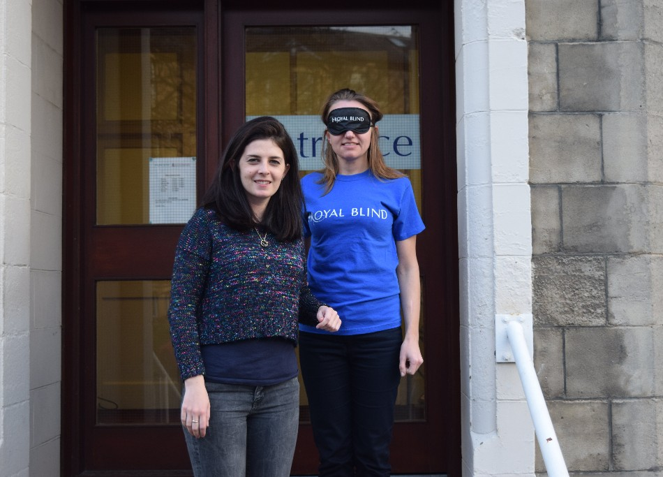 Fundraisers challenged to go 'blind' for a day for visual impairment charity