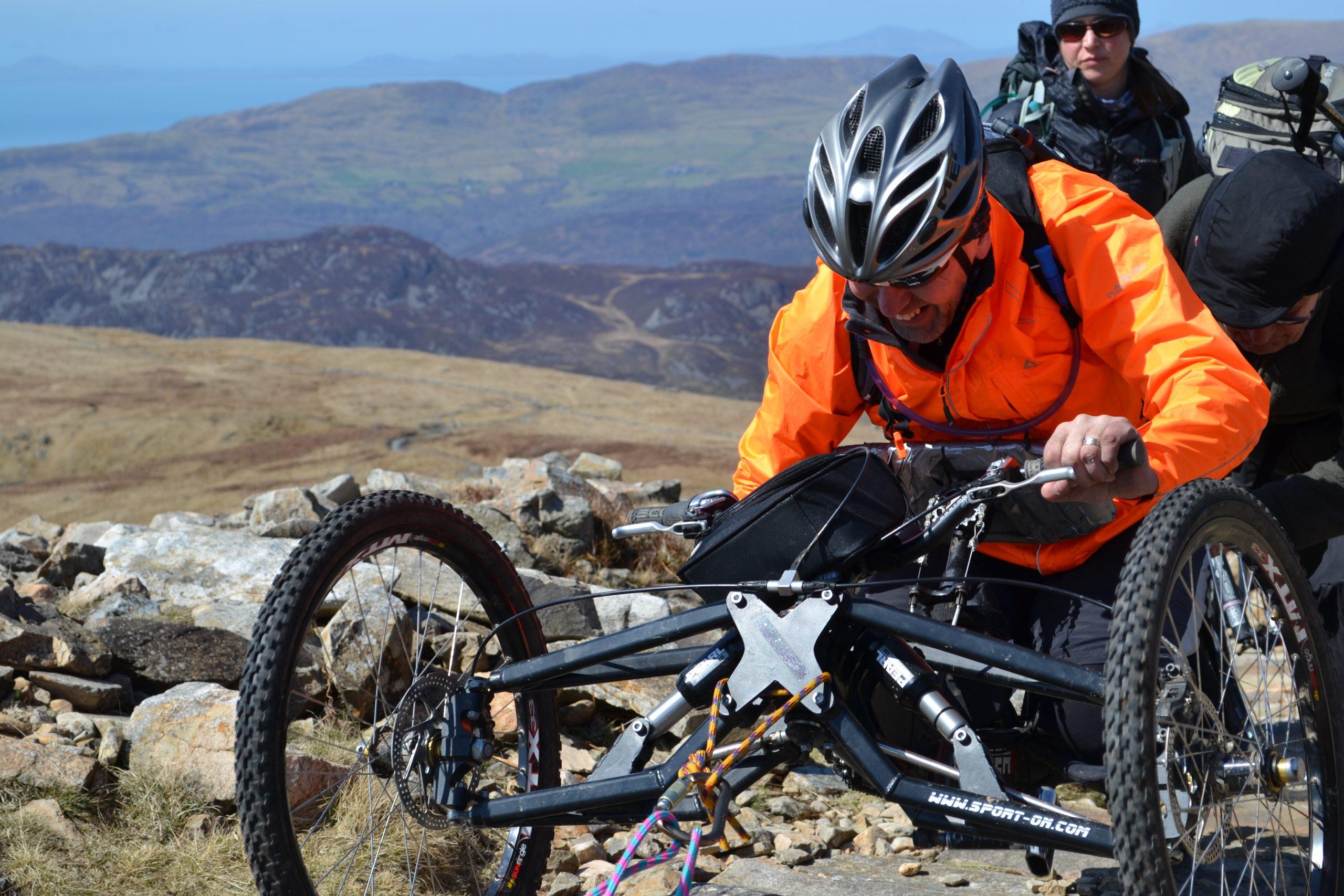 Equipment decision closes Coed y Brenin adaptive mountain bike project