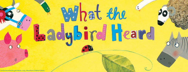BSL Performance of 'What the Ladybird Heard' signed by Jeni Draper!