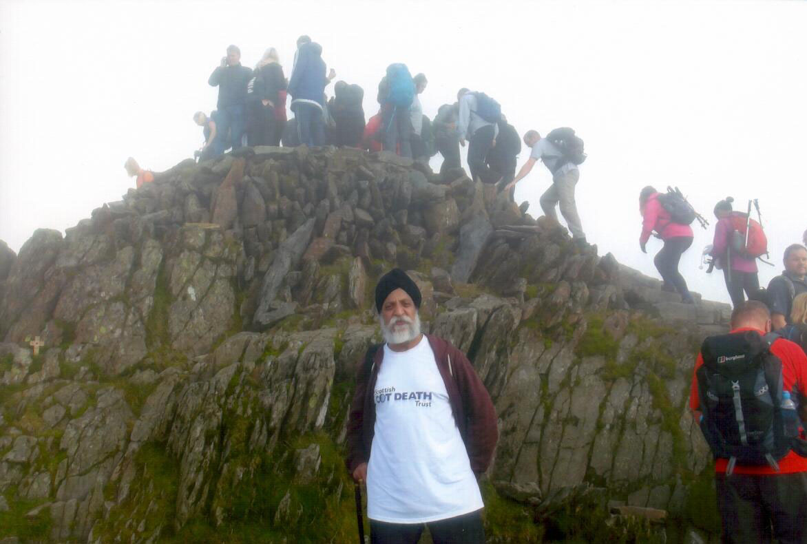 Fundraising Climbs to £1425 for Bield Staff Member