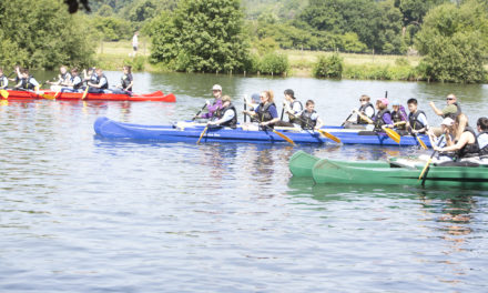 First Rivertime Accessible Regatta takes over Bisham Abbey