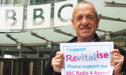Arthur Smith presents BBC Radio 4 Appeal for Revitalise