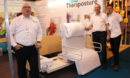 Theraposture to demonstrate why it is the considered choice at Rise 4 Disability