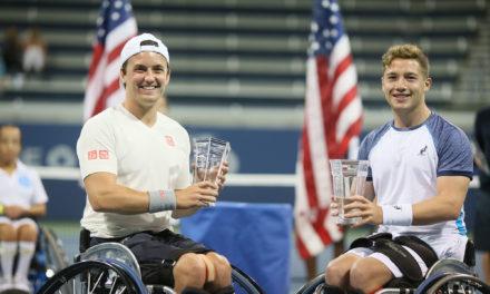 Sensational Saturday for Brits as Hewett, Reid and Lapthorne win US Open wheelchair tennis titles
