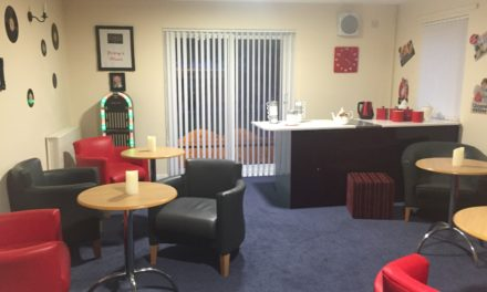 Care home with very own hair salon