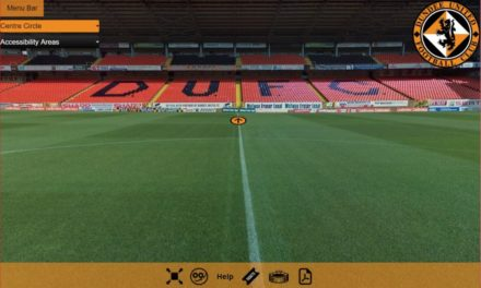 Accessible virtual tour at Dundee United