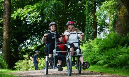 Join Calvert Trust Exmoor for a Spooky Cycle