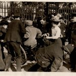 this picture is off disabled suffragette, Rosa May Billinghurst