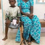 prosthetics mother and child
