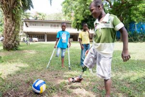 legs4africa playing football