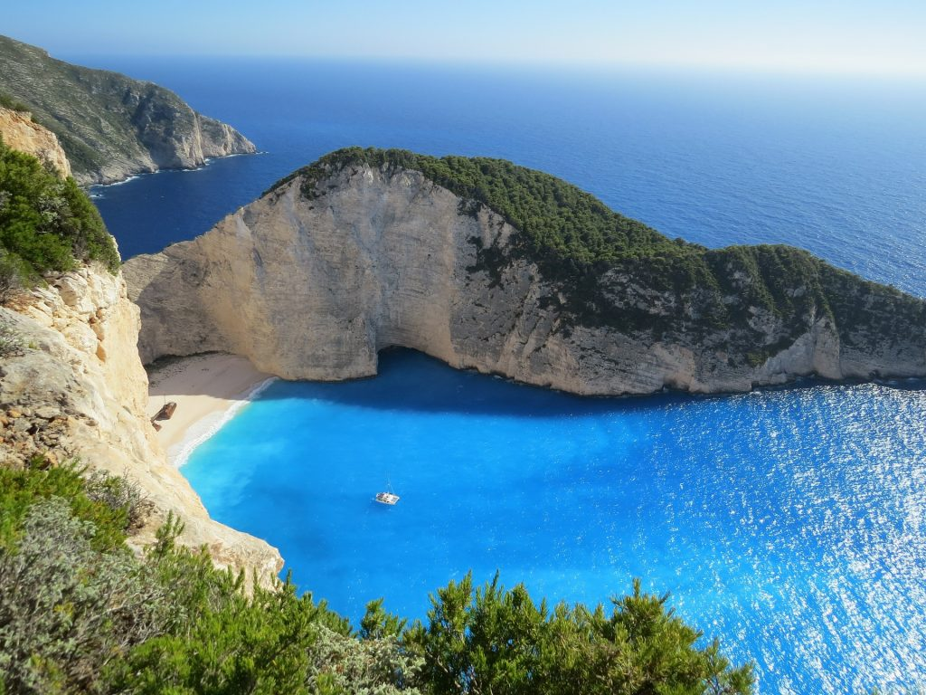 summer holiday in Greece